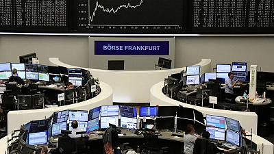 European shares dip after flood of earnings