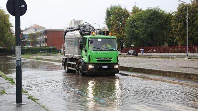 Maltempo, emergenza rientrata a Milano