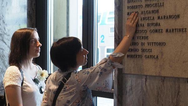 Periti strage:'resti possono avere nome'