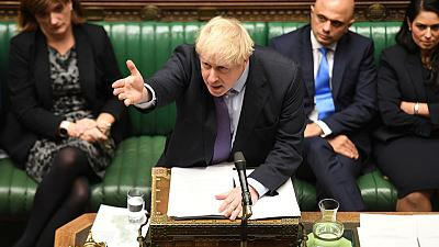 British parliament backs PM Johnson's Brexit deal at important stage