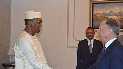 Présentation des lettres de créance du nouvel Ambassadeur de France au Tchad