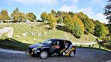 Campioni GF motori corrono Rally di Como