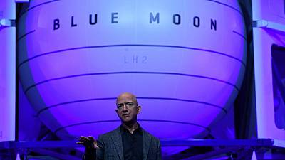 Bezos's Blue Origin partners with Lockheed, others on moon lander