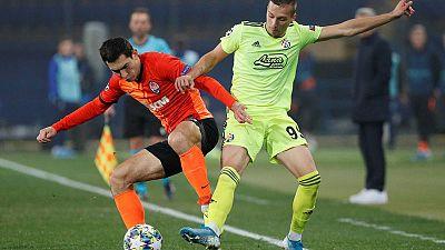 Shakhtar hold adventurous Dinamo to thrilling 2-2 draw