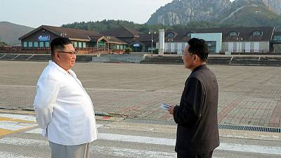 Kim Jong Un: South Korean facilities in Mt. Kumgang resort must be removed - KCNA