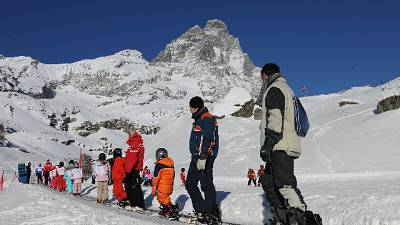 Cervinia apre stagione dello sci