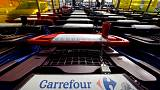 Weak third-quarter French hypermarkets performance weighs on Carrefour shares