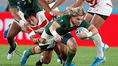 Big hearted de Klerk stands by Springbok aerial assault
