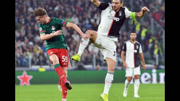 Bonucci: Lokomotiv ribaltata col talento