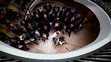 Republican lawmakers storm hearing room, disrupt Trump impeachment inquiry
