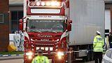 British police find 39 bodies in truck, arrest driver