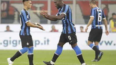 Inter, col Dortmund Lautaru-Lukaku