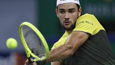 Tennis: Berrettini ai quarti a Vienna
