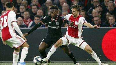 Champions: Ajax-Chelsea 0-1