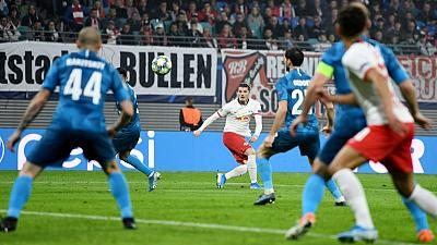 Leipzig stage second half comeback to beat Zenit 2-1