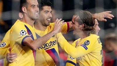 Champions: Slavia Praga-Barcellona 1-2