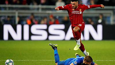 Oxlade-Chamberlain hits double as Liverpool trounce Genk