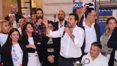 Salvini,Conte faccia premier se è capace