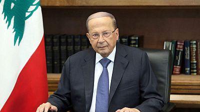 Lebanese President Aoun invites protesters to dialogue