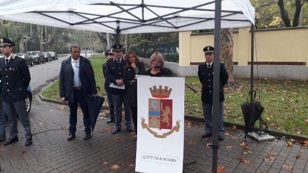 Novara dedica largo a poliziotto ucciso