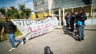 Turchia,attivisti occupano sede Leonardo