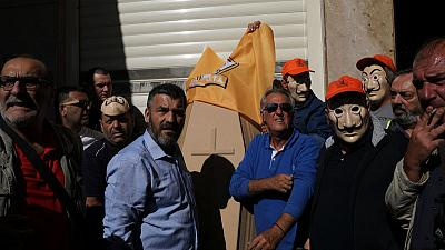 Greek workers protest reforms intended to boost investment