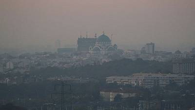 Belgrade joins world's most polluted cities as farmers torch fields