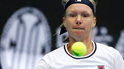Top seed Bertens cruises into WTA Elite Trophy semis