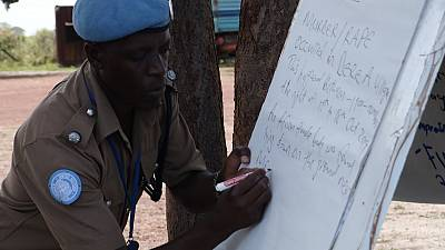 Bentiu Police Officers Improve Their Investigative Skills in Advance of Mobile Court Hearings
