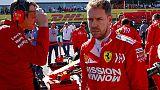 Vettel, fine settimana difficile
