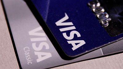 Visa fourth-quarter profit rises 6% on higher fees