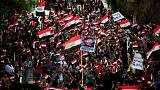At least 40 killed as fresh protests engulf Iraq