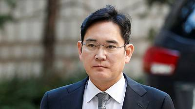 Samsung heir appears at court for his bribery trial