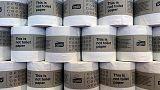 Essity third-quarter profit tops estimates, company lowers savings target