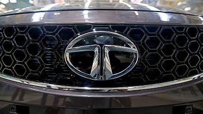 JLR parent Tata Motors posts smaller-than-expected quarterly loss
