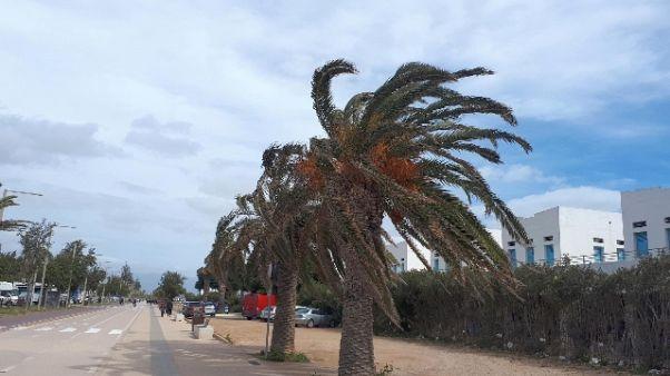 Maltempo, allerta gialla in Sardegna