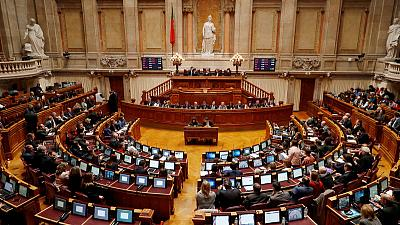 Too far to the right, Portugal lawmaker gets own parliament door