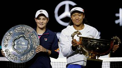 Barty, Osaka drawn in same group for WTA Finals