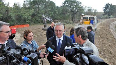 Maltempo Piemonte, danni all'agricoltura