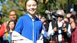 Teen climate activist Thunberg leads rally in Vancouver