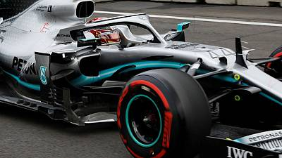 Motor racing: Hamilton fastest in first Mexico GP practice