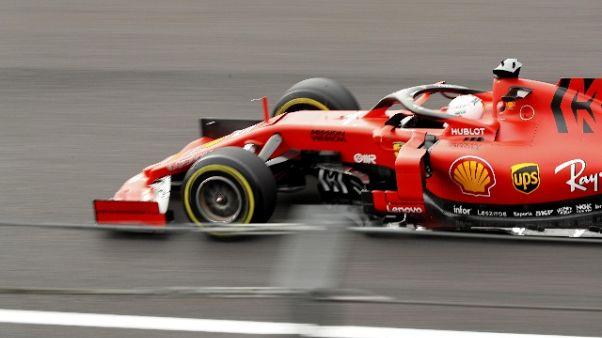 Gp Messico: seconde libere a Vettel