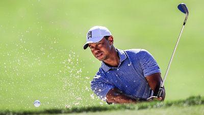 Golf, in Giappone ancora show di Woods