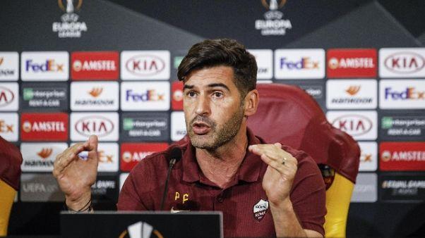 "Fonseca ""Roma sta bene,Milan più fresco"""