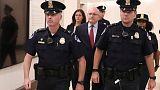 U.S. lawmakers hear from 'corroborating' witness in Trump impeachment probe