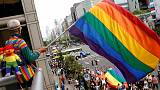 Thousands throng Taipei streets in East Asia's largest Pride march
