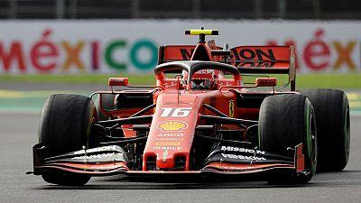 Motor racing: Leclerc keeps Ferrari on top in final Mexican practice