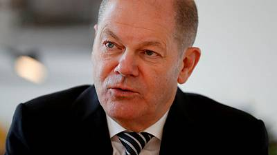Germany's Scholz tops SPD leader vote, but faces run-off