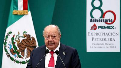 Mexico asks Interpol to help find former oil union boss-source