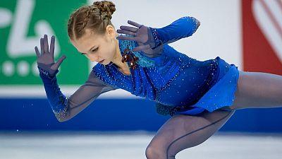 Figure skating - Russia's Trusova dominates in Skate Canada win